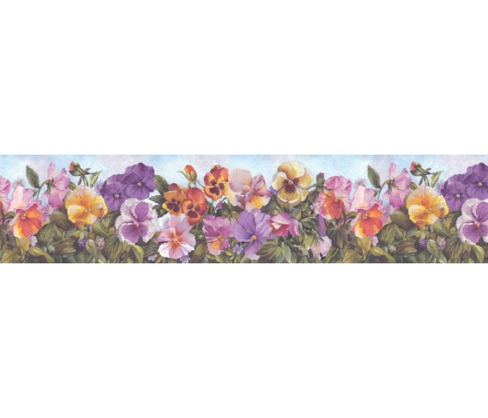 Floral Wallpaper Borders: Floral Wallpaper Border B28973