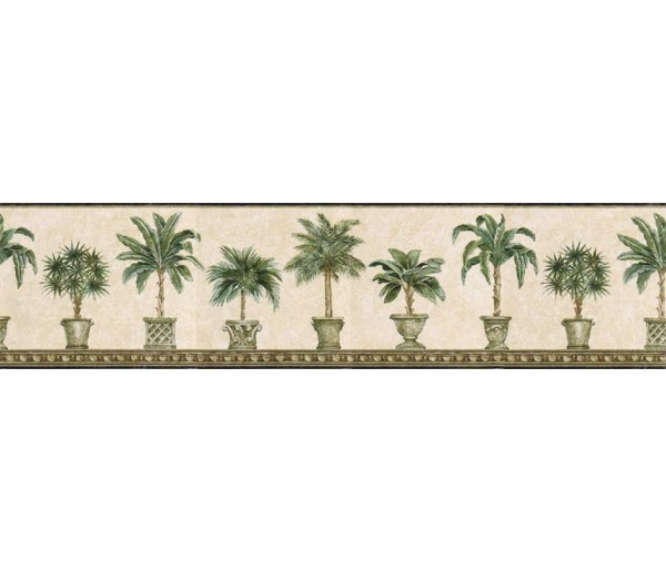 Clearance: Trees Wallpaper Border TH29009B