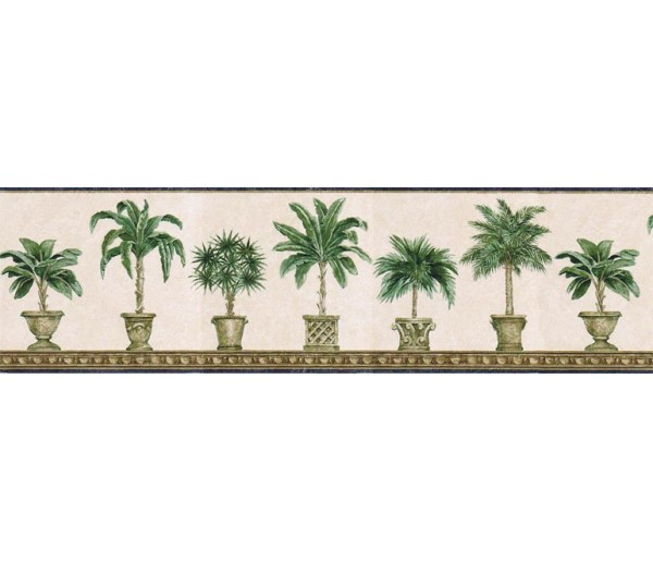 Clearance: Trees Wallpaper Border TH29011B