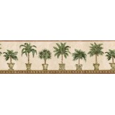 Clearance: Trees Wallpaper Border TH29012B