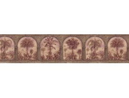 Prepasted Wallpaper Borders - Country Wall Paper Border B29579