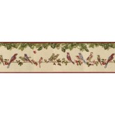 Birds  Wallpaper Borders: Birds Wallpaper Border B30037