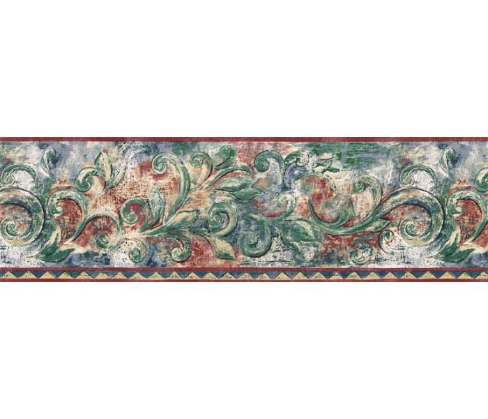 Clearance: Vintage Wallpaper Border JSO3004