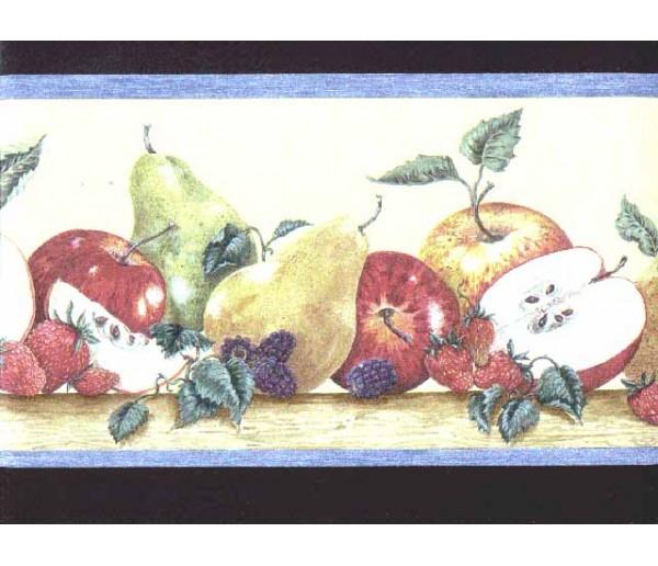 Clearance: Fruits Wallpaper Border b3026cy