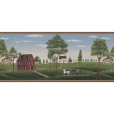 Country Wallpaper Borders: Country Wallpaper Border GB30307W