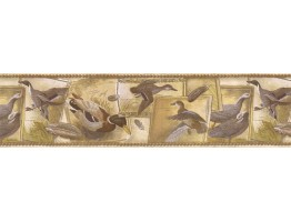 Prepasted Wallpaper Borders - Birds Wall Paper Border SG30433
