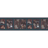 Clearance: Country Wallpaper Border b3073LT