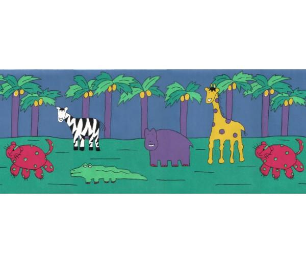 Animal Wallpaper Borders: Animals Wallpaper Border YFB313