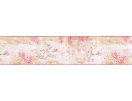 Prepasted Wallpaper Borders - Birds Wall Paper Border b3286