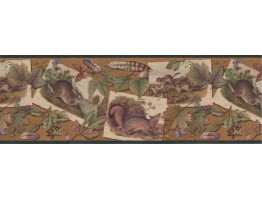Animals Wallpaper Border B33637