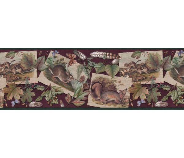 Prepasted Wallpaper Borders - Contemporary Wall Paper BorderB33638