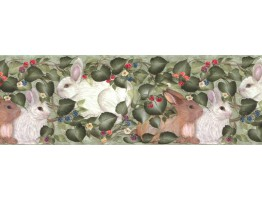 Rabbits Wallpaper Border B33962