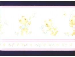 Prepasted Wallpaper Borders - Kids Wall Paper Border b356lmr