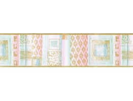 Contemporary Wallpaper Border TW38007B