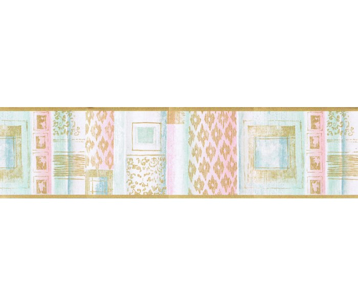 Clearance: Contemporary Wallpaper Border TW38007B