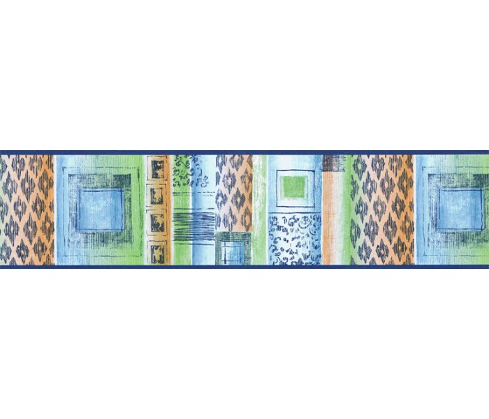 Clearance: Contemporary Wallpaper Border TW38008B