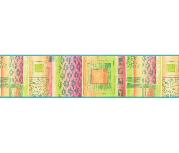 Contemporary Wall Borders: Contemporary Wallpaper Border TW38009B