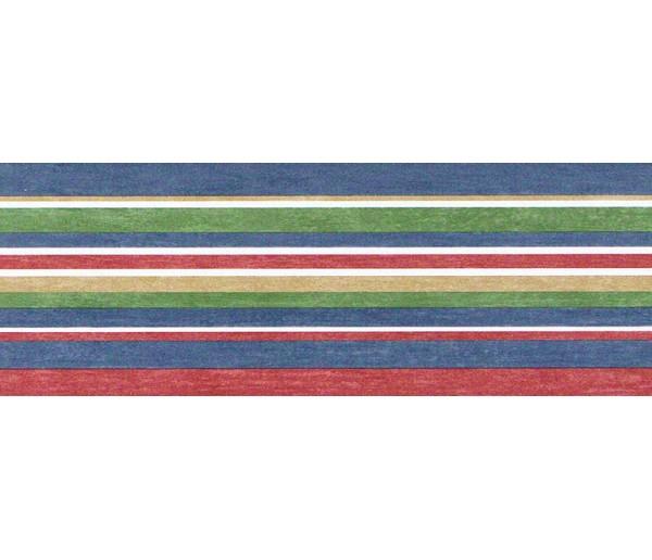 Novelty Wallpaper Borders: Stripes Wallpaper Border TW38021B