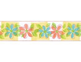 Prepasted Wallpaper Borders - Novelty Wall Paper Border TW38036B