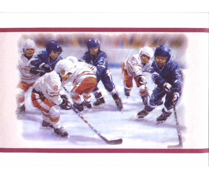 Clearance: Kids Sports Wallpaper Border b3901pr
