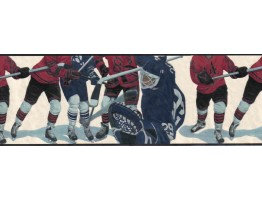 Prepasted Wallpaper Borders - Sports Wall Paper Border b4042sc