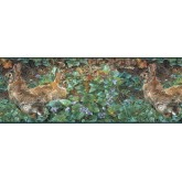 Clearance: Rabbits Wallpaper Border SH4193B