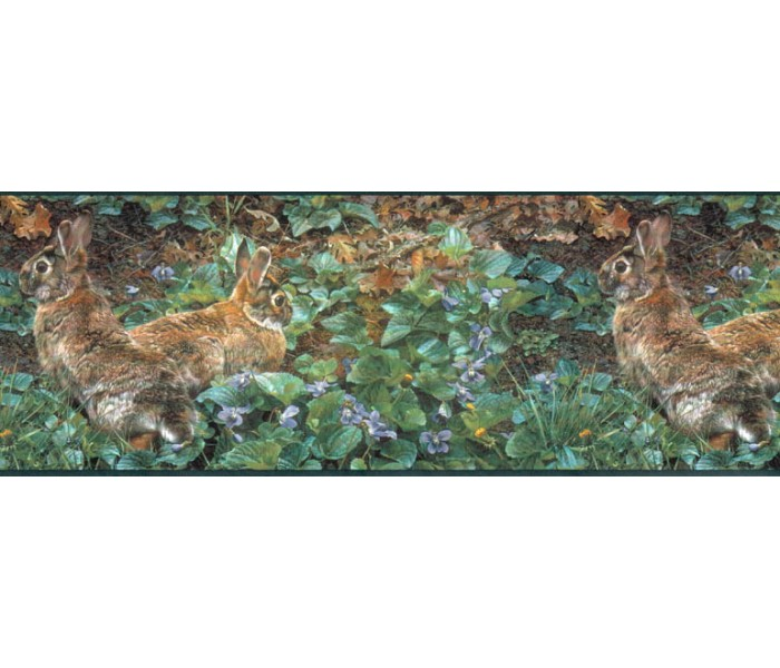 Clearance: Rabbits Wallpaper Border SH4193B