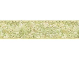 Prepasted Wallpaper Borders - Vintage Wall Paper Border IL42009B