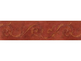 Prepasted Wallpaper Borders - Contemporary Wall Paper Border IL42020B