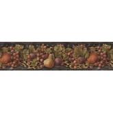 Garden Wallpaper Borders: Fruits Wallpaper Border IL42022B