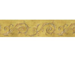 Prepasted Wallpaper Borders - Vintage Wall Paper Border IL42023B