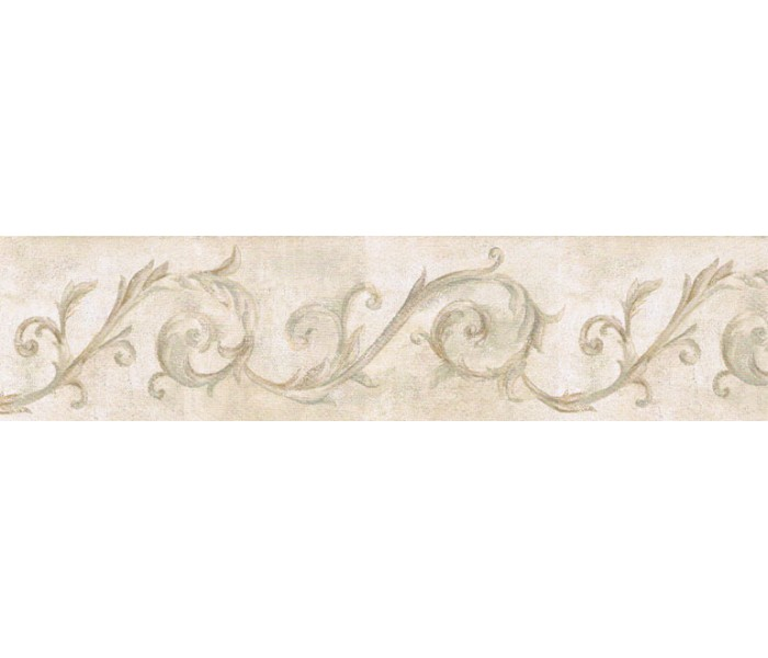 Vintage Wallpaper Borders: Vintage Wallpaper Border IL42025B