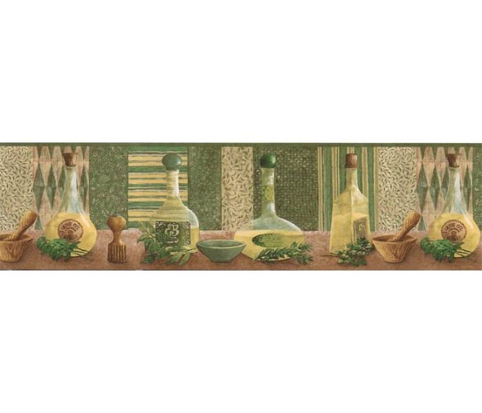Kitchen Wallpaper Borders: Kitchen Wallpaper Border KLM43012B