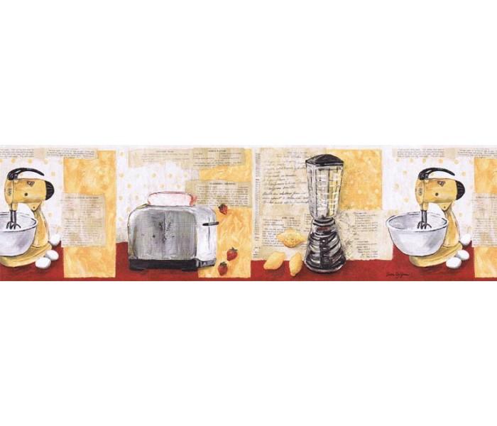 Kitchen Wallpaper Borders: Kitchen Wallpaper Border KLM43025B