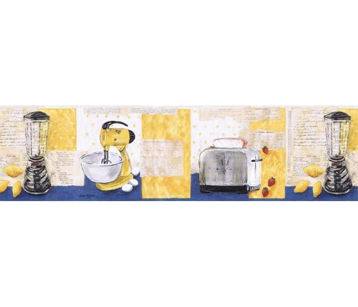 Kitchen Wallpaper Borders: Kitchen Wallpaper Border KLM43026B