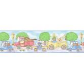 Nursery Wallpaper Borders: Animals Wallpaper Border b47820