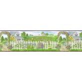 Clearance Garden Wallpaper Border b48012 Parkview Wallcoverings