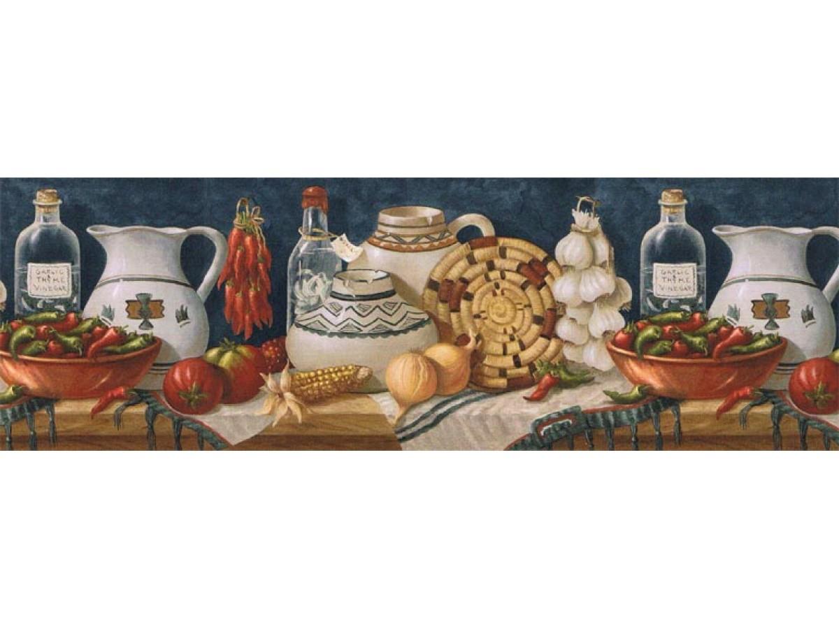Kitchen Wallpaper Border El49013b
