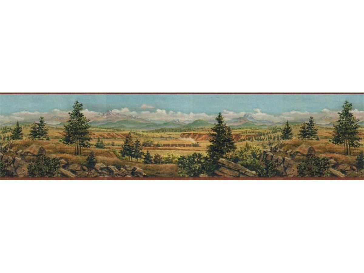 Country Wallpaper Border El49019b