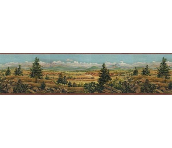 Country Wallpaper Borders: Country Wallpaper Border EL49019B