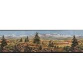 Country Wallpaper Borders: Country Wallpaper Border EL49020B