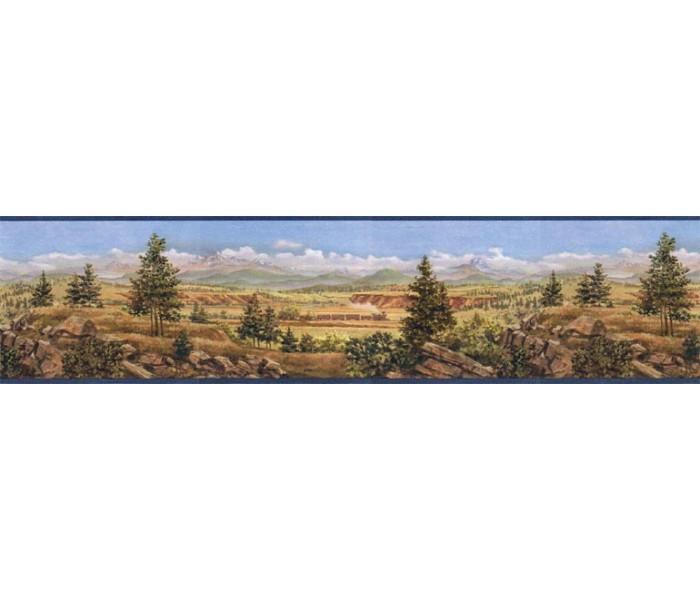 Country Wallpaper Borders: Country Wallpaper Border EL49021B