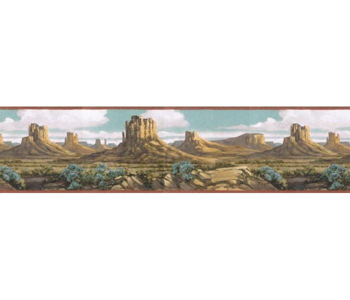 Country Wallpaper Borders: Country Wallpaper Border EL49022B