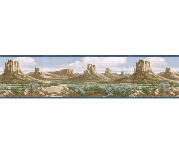 Clearance: Country Wallpaper Border EL49023B