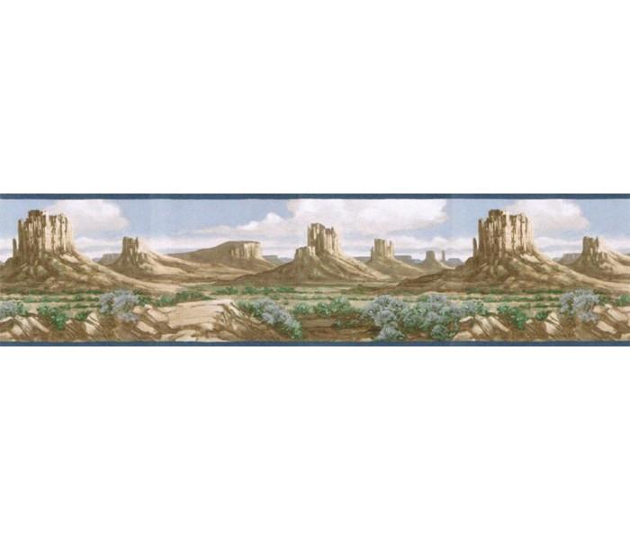 Clearance: Country Wallpaper Border EL49023B