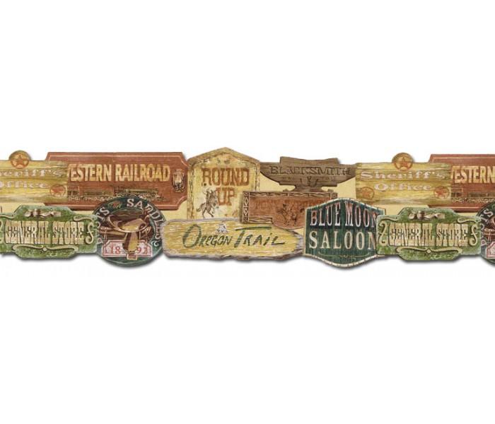 Country Wallpaper Borders: Country Wallpaper Border EL49024DB