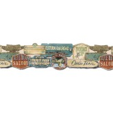 Clearance: Country Wallpaper Border EL49026DB