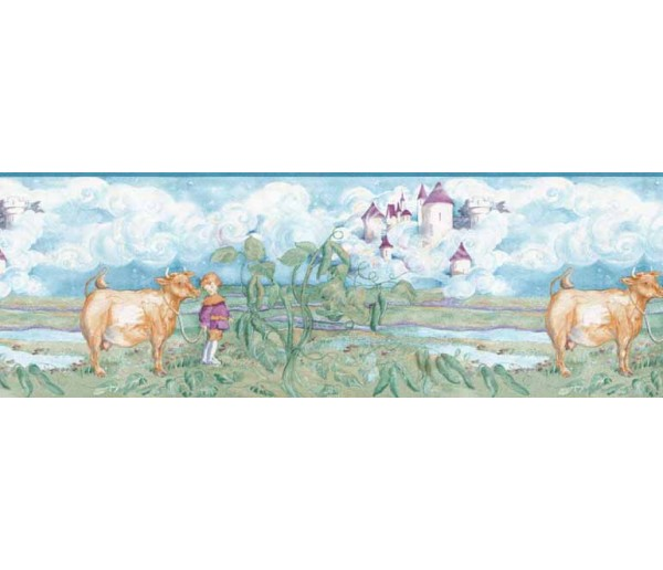 Clearance: Animals Wallapaper Border B4919