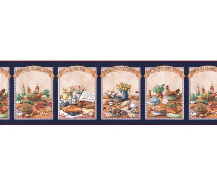 Kitchen Wallpaper Borders: Kitchen Wallpaper Border B49529