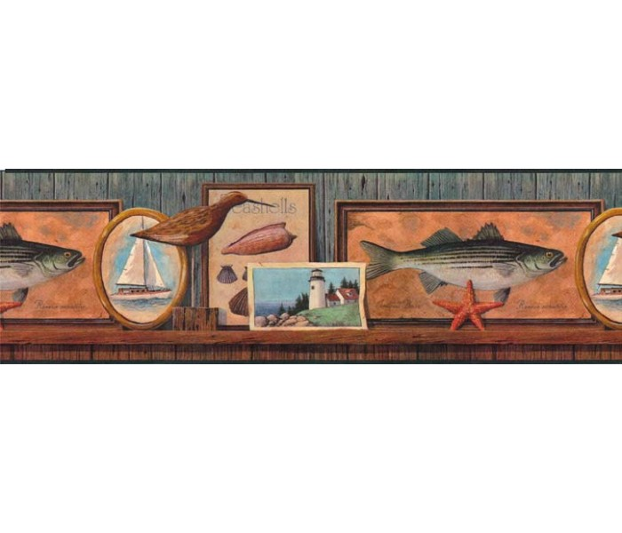 Clearance: Contemporary Wallpaper Border B49542
